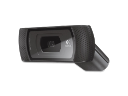 Logitech B910 Webcam - 5 Megapixel - 30 fps - Black - USB 2.0 - 1 Pack(s)