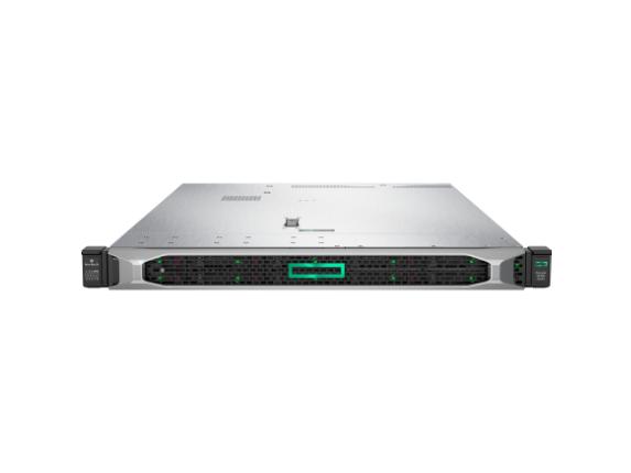 HP ProLiant DL360 G10 1U Rack Server - 1 x Intel Xeon Silver 4112 Quad-core (4 Core) 2.60 GHz - 16 GB Installed DDR4 SDRAM - 12G