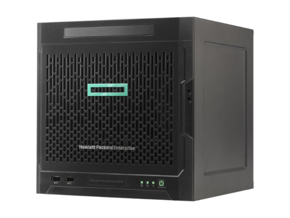 HPE ProLiant MicroServer Gen10 Ultra Micro Tower Server - 1 x AMD Opteron X3421 Quad-core (4 Core) 2.10 GHz - 8 GB Installed