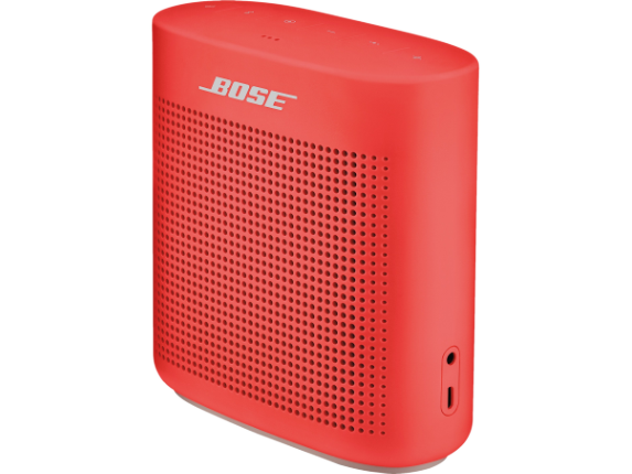 Bose SoundLink Speaker System - Wireless Speaker(s) - Battery Rechargeable - Coral Red