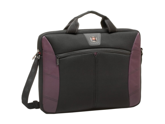 Swissgear Sherpa 16in Slimcase Computer Sleeve, Burgandy & Black