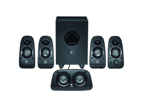 Logitech Z506 5.1 Speaker System - 75 W RMS