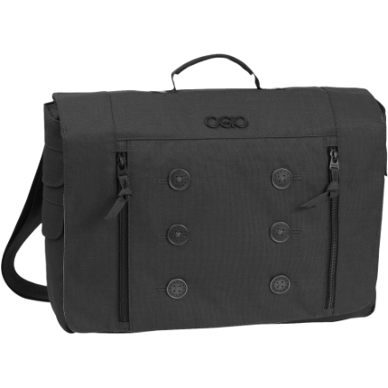 "Ogio Midtown Carrying Case (Messenger) for 15"" Notebook - Black"