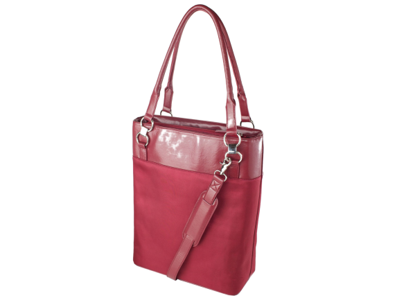 "WIB Bonita Classica Carrying Case (Tote) for 15.6"" Notebook - Wine Red"