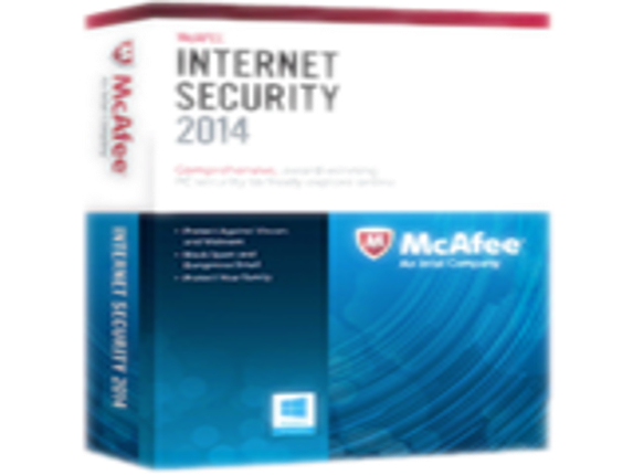 McAfee Internet Security 2014 - Subscription Package - 1 PC
