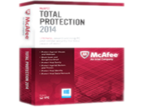 McAfee Total Protection 2014 - Subscription Package - 1 PC