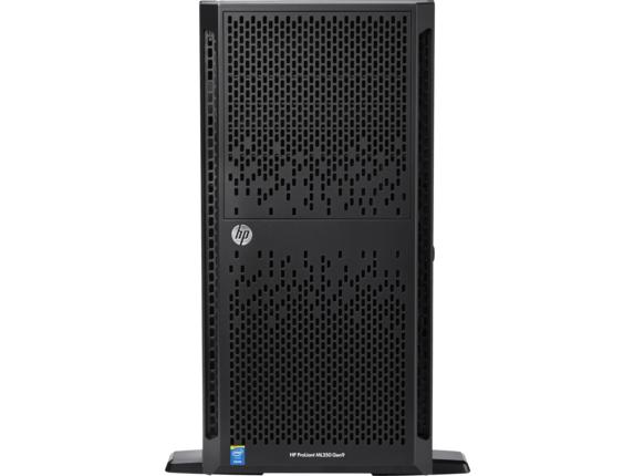 HP ProLiant ML350 G9 5U Tower Server - 1 x Intel Xeon E5-2609 v3 Hexa-core (6 Core) 1.90 GHz - 8 GB Installed DDR4 SDRAM - 1