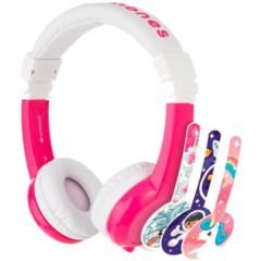"HP Chromebook 12"" x360 + Pink BuddyPhone Explorer Kids Wired Headset Bundle - Img_Right_320_240"