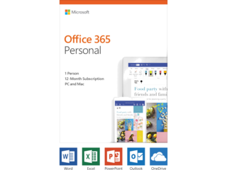 "HP ENVY x360 15"" PC + Microsoft Office 365 Personal (download) Bundle - Img_Rear_320_240"