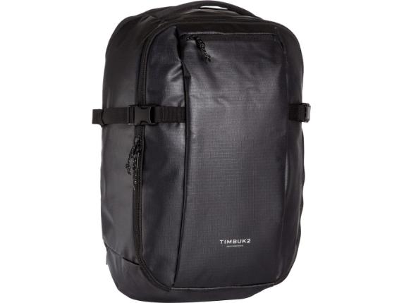 """Timbuk2 Blink Carrying Case (Backpack) for 15"""" Bottle, Tablet, Umbrella, Notebook - Jet Black - Center"""