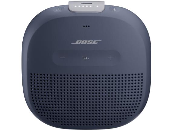 SoundLink Micro Portable Bluetooth Smart Speaker - Siri Supported - Dark Blue|783342-0500|Bose