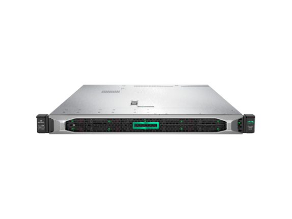 HPE ProLiant DL360 G10 1U Rack Server - 2 x Intel Xeon Gold 5115 Deca-core (10 Core) 2.40 GHz - 64 GB Installed DDR4 SDRAM - 12G - Center