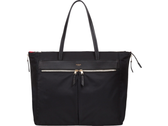 "Knomo Grosvenor Place Carrying Case (Tote) for 15"" Notebook - Black"
