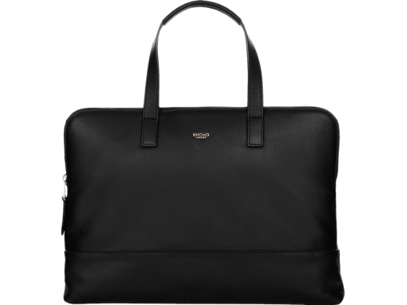 """Knomo Reeves Carrying Case (Briefcase) for 14"""" Notebook - Black"""