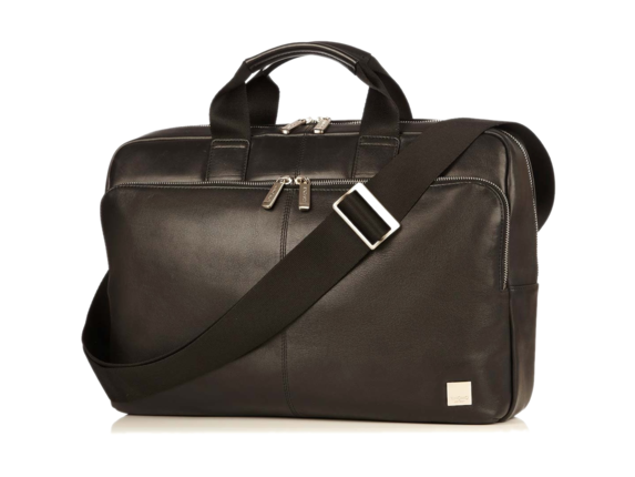 "Knomo Newbury Carrying Case (Briefcase) for 15"" Notebook - Black"
