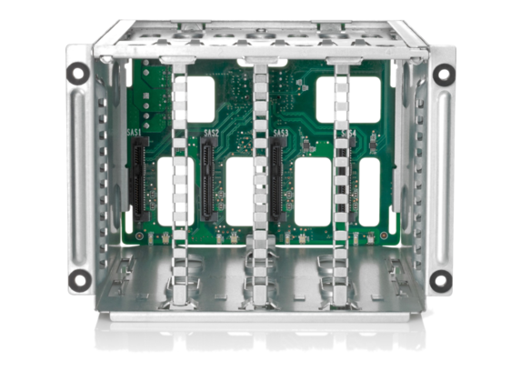 HPE ML350 SFF drive enclosure internal