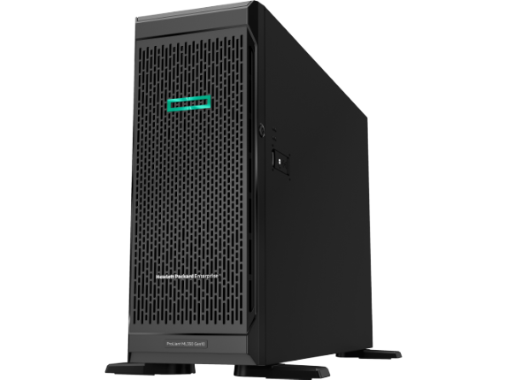 HPE ProLiant ML350 G10 4U Tower Server - 2 x Intel Xeon Gold 5118 Dodeca-core (12 Core) 2.30 GHz - 32 GB Installed DDR4 SDRAM