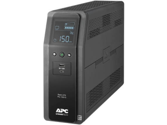 APC by Schneider Electric Back-UPS Pro BR1000MS 1.0KVA Tower UPS