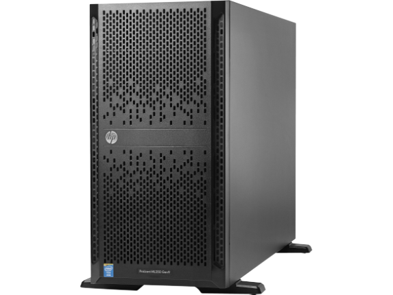 HPE ProLiant ML350 G9 5U Tower Server - 1 x Intel Xeon E5-2609 v4 Octa-core (8 Core) 1.70 GHz - 8 GB Installed DDR4 SDRAM - 12G - Center