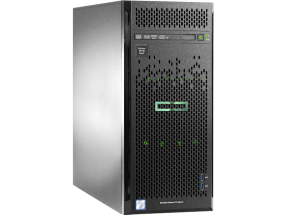 HPE ProLiant ML110 G9 4.5U Tower Server - 1 x Intel Xeon E5-2603 v4 Hexa-core (6 Core) 1.70 GHz - 8 GB Installed DDR4 SDRAM - 1 - Center