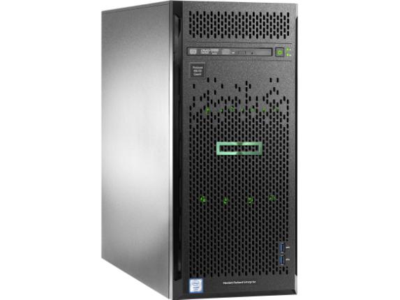 HPE ProLiant ML110 G9 4.5U Tower Server - 1 x Intel Xeon E5-2603 v4 Hexa-core (6 Core) 1.70 GHz - 8 GB Installed DDR4 SDRAM - 1