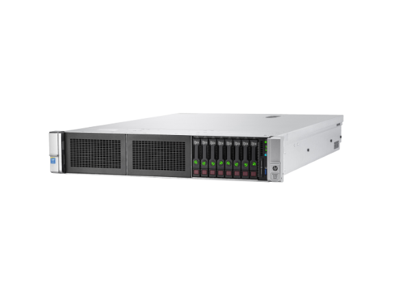 HPE ProLiant DL380 G9 2U Rack Server - 1 x Intel Xeon E5-2650 v4 Dodeca-core (12 Core) 2.20 GHz - 32 GB Installed DDR4 SDRAM - Center