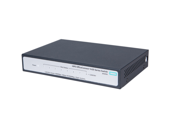 HPE OfficeConnect 1420 8G Switch - Center