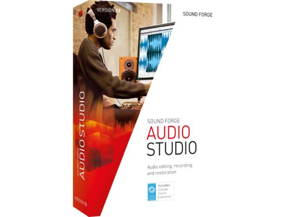 Magix SOUND FORGE Audio Studio v.12.0|ANR007731HP