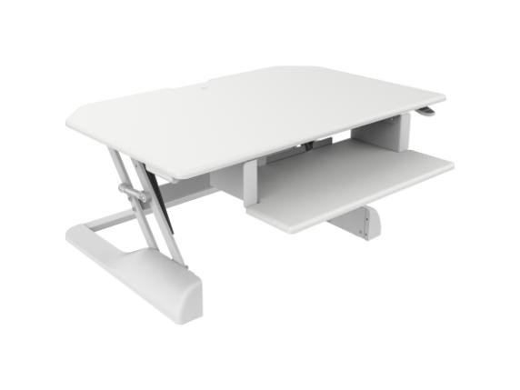 Ergotech Freedom Desk - Height Adjustable Standing Desk - Center