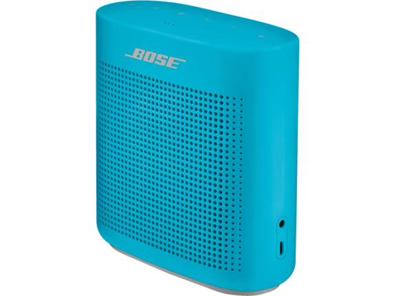 Bose SoundLink Speaker System - Wireless Speaker(s) - Battery Rechargeable - Aquatic Blue - Center