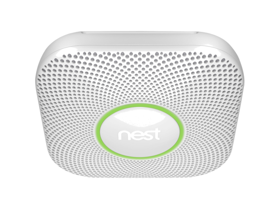 Nest Carbon Monoxide Alarm - Center