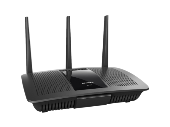 Linksys Max-Stream EA7300 IEEE 802.11ac Ethernet Wireless Router - Center