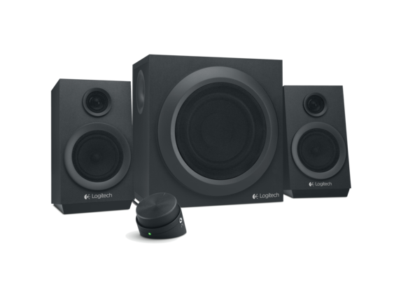 Logitech Z333 2.1 Speaker System - 40 W RMS - Black|980-001203