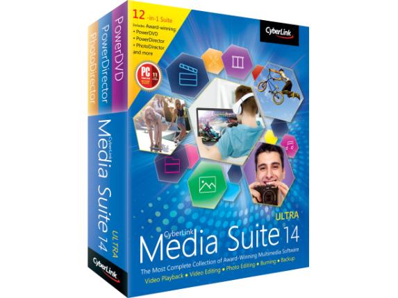 Cyberlink Media Suite v.14.0 Ultra - Center