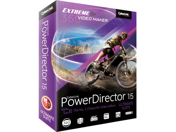 Cyberlink PowerDirector v.15.0 Ultimate Suite - Center