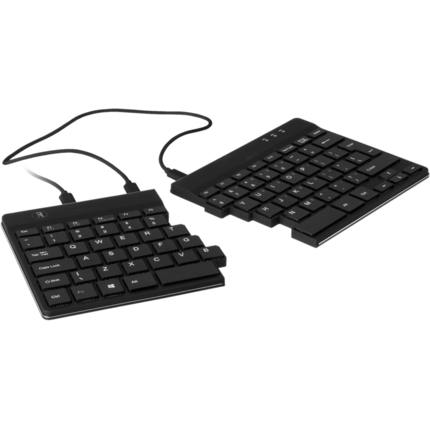 R-Go R-Go Split Ergonomic Keyboard, QWERTY (US), Black, Wired