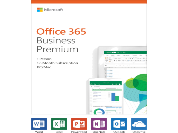 Microsoft Office 365 Business Premium - Box Pack - 1 User - 1 Year - Medialess