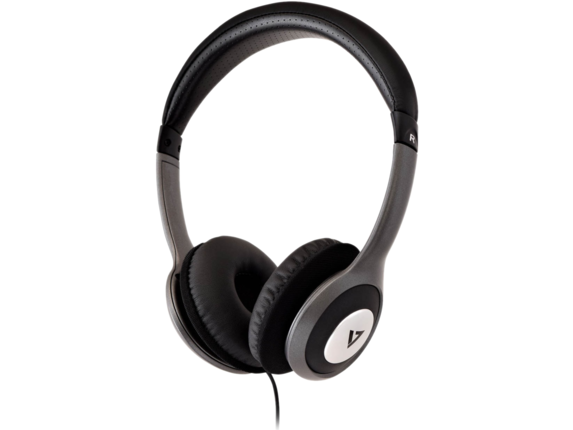 V7 Deluxe Stereo Headphones with Volume Control|HA520-2NP