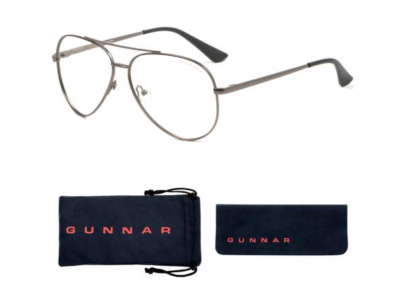 Gunnar Optiks Maverick - Computer Glasses - Gunmetal - Liquet
