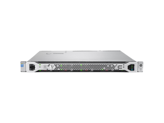 HPE ProLiant DL360 G9 1U Rack Server - 1 x Intel Xeon E5-2620 v4 Octa-core (8 Core) 2.10 GHz - 16 GB Installed DDR4 SDRAM - 12G - Center