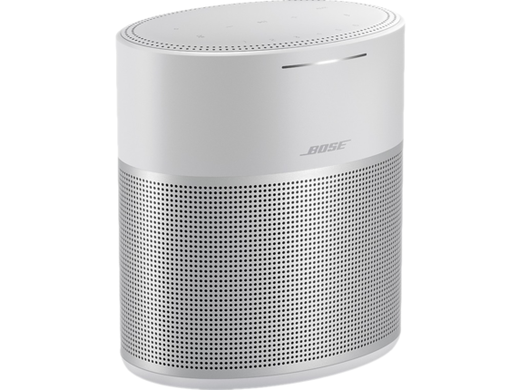 Bose 300 Bluetooth Smart Speaker - Google Assistant, Alexa Supported - Luxe Silver|808429-1300