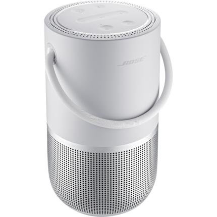 Bose Portable Bluetooth Smart Speaker - Alexa, Google Assistant Supported - Luxe Silver|829393-1300