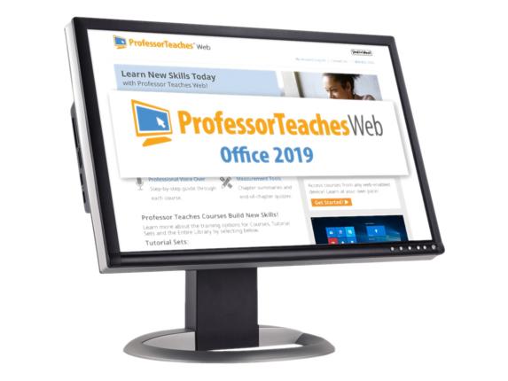 Individual Software Professor Teaches Web - QuickBooks 2019 Quarterly - Academic Training Course|PWQ-Q9SR