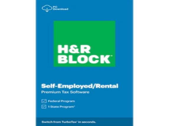 H&R Block 2020 Premium Tax Software - License - 1 License|1516800-20