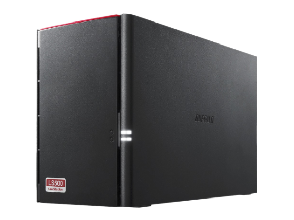 Buffalo LinkStation 520 4TB Personal Cloud Storage with Hard Drives Included