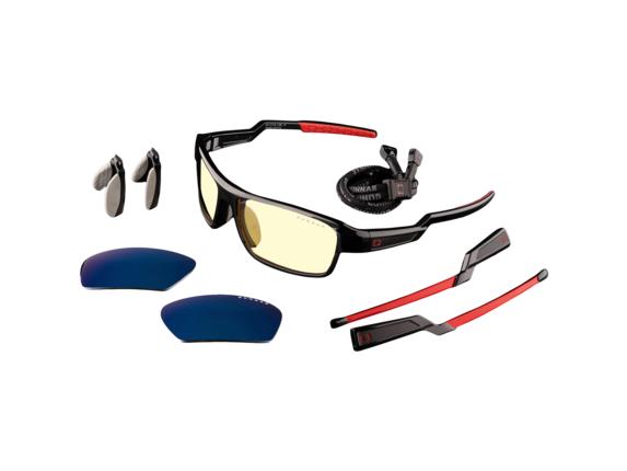 GUNNAR Gaming Glasses - Lightning Bolt 360, GUNNAR Edition|LI3-00101