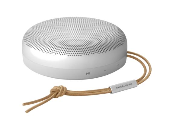 B&O Beosound A1 2nd Gen Portable Bluetooth Smart Speaker - Alexa Supported - Gray Mist|1734001|Bang