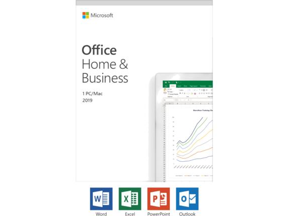 Microsoft Office 2019 Home & Business - License - Windows 10 PC/Mac, 1  Device
