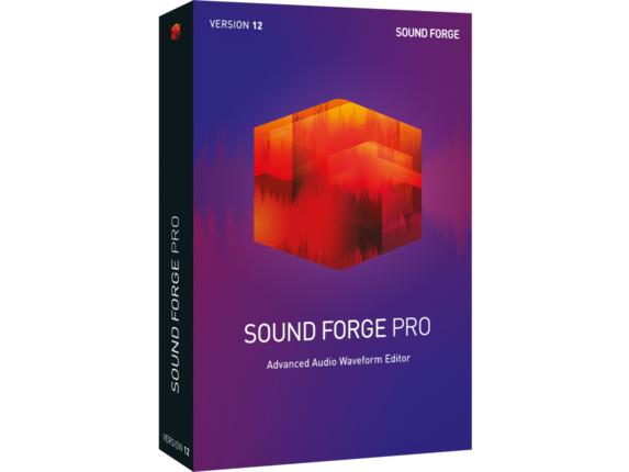 Magix SOUND FORGE Pro v.12.0 - Mini Box Packing|ANR008196HP