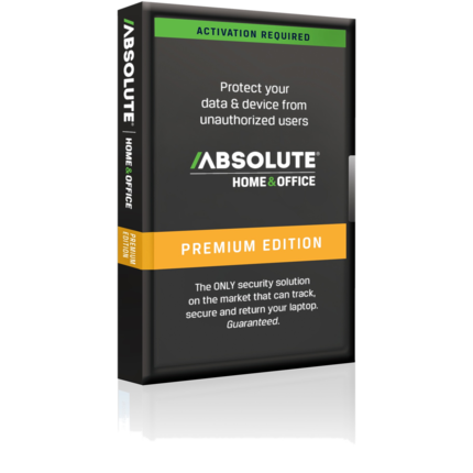Absolute Home and Office LoJack Premium 1 Year|LJPPX12